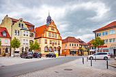 Rathaus Bad Rodach, Bayern,  Deutschland
