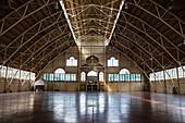 Interior view of the historic hockey arena, Ottawa, Ontario, Canada, North America