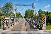 Bridge over the Tay River, Perth, Ontario, Canada, North America