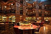 Bibliothek des Parlaments im Parlamentsgebäude, Ottawa, Ontario, Kanada, Nordamerika