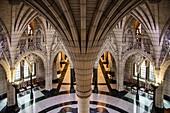 Innenansicht vom Parlamentsgebäude, Ottawa, Ontario, Kanada, Nordamerika