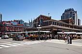 ByWard Market in downtown Ottawa, Ontario, Canada, North America