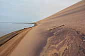 Angola; in the southern part of Namibe Province; northern part of the Namib Desert; Atlantic coast; large sand dunes that reach down to the sea
