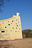 Angola; Huila Province; around Lubango; small, modern church on the road to Tundavala Gorge