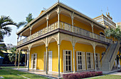 Angola; Luanda Province; Capital Luanda; historical building of the Palacio de Ferro; now houses a cultural center; Exhibitions and concerts
