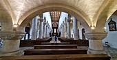 Innenansicht von St. Jakob, Regensburg, Ost-Bayern, Deutschland