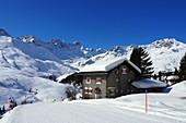 Skigebiete Arosa, Graubünden, Schweiz