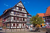Kirchhof in Schmalkalden, Thüringen, Deutschland