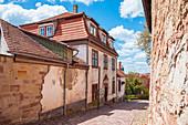 Pfalzkeller und Schlossberg am Schloss Wilhelmsburg in Schmalkalden, Thüringen, Deutschland
