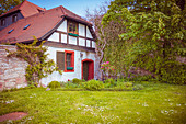 Ehemaliges Backhaus am Schloss Wilhelmsburg in Schmalkalden, Thüringen, Deutschland