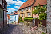 Schlossberg in Schmalkalden, Thüringen, Deutschland