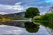 Landschaft bei Somna, Provinz Nordland, Norwegen