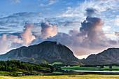 Landscape near Somna, Norway