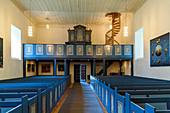 Old church at the Petter Dass Museum, Alstahaug, Norway