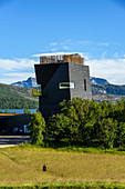 House of literature and documentation center about the writer Knut Hamsun, Hamsun Center, Hamarøy, Norway