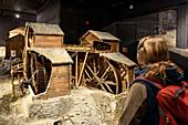 Mining Museum inside, Røros mining town, Roros, Norway