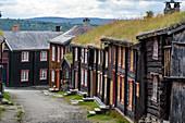 Mining town of Røros: Bergstaden (old town), Roros, Norway