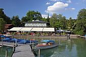 Seehaus Raabe, Steinebach, Wörthsee, Fünf-Seen-Land, Upper Bavaria, Bavaria, Germany