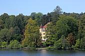 Garatshausen Castle of the Thurn and Taxis family, Feldafing, Starnberger See, 5-Seen-Land, Upper Bavaria, Bavaria, Germany