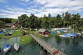 Possenhofen, Starnberger See, 5-Seen-Land, Upper Bavaria, Bavaria, Germany