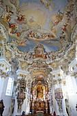 St. Johannes Baptist, Steingaden, Bavaria, Germany