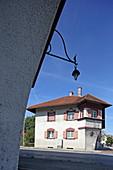 Museum Fabrikarbeiterwohnung, Garching an der Alz, Oberbayern, Bayern, Deutschland