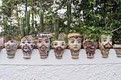 Traditional plant pots, Vulcano Island, Aeolian Islands, Sicily, Italy