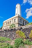 Lighthouse, Vulcano Island, Aeolian Islands, Sicily, Italy,