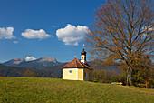 Maria Rast Chapel near Krün, Werdenfelser Land, Bavaria, Germany