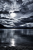 Late afternoon at Lake Wanaka, Otago, South Island, New Zealand.
