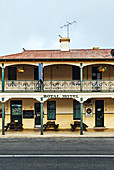 A traditional country pub, the Royal Hotel, in Mandurama, New South Wales, Australia