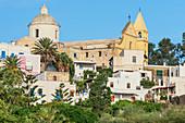 San Vincenzo village, Stromboli, Aeolian Islands, Sicily, Italy