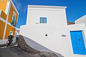 Traditional houses, Panarea, Aeolian Islands, Sicily, Italy