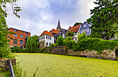 Mühlengraben in Essen-Kettwig, North Rhine-Westphalia, Germany