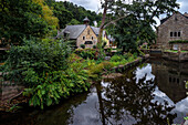 In the artist village of Pont-Aven, Quimper, Finistère, Brittany, France, Europe