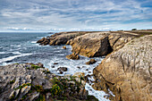 Stroll along the Cote Sauvages; Quiberon, Brittany, France