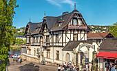 Schillergarten in Dresden Blasewitz, Saxony, Germany