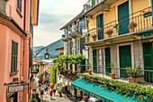 Old town of Bellagio on Lake Como, Lombardy, Italy