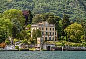 View of the Villa Margherita in Cadenabbia on Lake Como, Lombardy, Italy