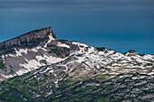 Hoher Ifen, 2230m, on the right the Gottesackerplateau, Kleinwalsertal, Vorarlberg, Allgäu Alps, Austria, Europe