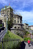 Bundeshaus in the old town of Bern, Switzerland
