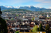 View from the Musegg Wall, Lucerne, Switzerland