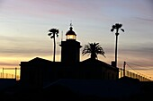 Leuchtturm am Ponta da Piedade bei Lagos, Algarve, Portugal