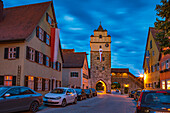 Nördlinger Tor in Dinkelsbühl, Bayern, Deutschland