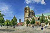 St. Paulus Cathedral in Munster, North Rhine-Westphalia, Germany