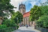 Liebfrauen-Überwasserkirche in Münster, Nordrhein-Westfalen, Deutschland
