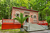 Moroccan house in the park of Linderhof Palace, Ettal, Bavaria, Germany