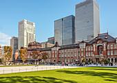 Tokyo Station main entrance, Tokyo, Japan