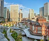 Tokyo Station forecourt, Tokyo, Japan