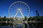 Ferris wheel in Old Montreal, Quebec Province, Canada